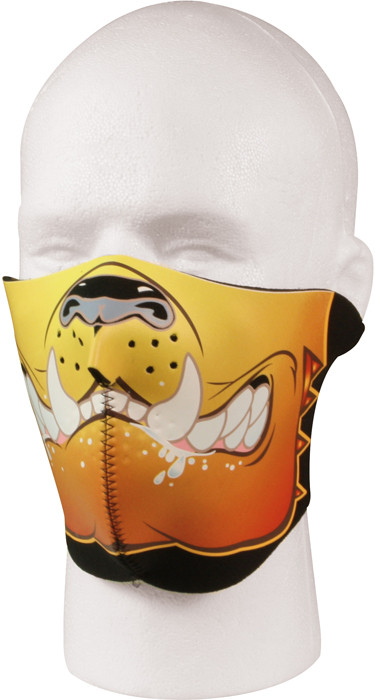Bulldog   Black Reversible Stretch Half Face Mask bcffd158ca9