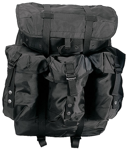 Black Military Large Alice Pack With Frame d27ec9677bc