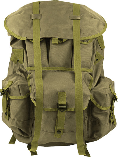 Olive Drab Military Medium Alice Pack Backpack Without Frame d30c47262f7