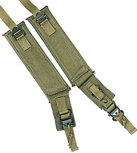 Olive Drab Military Alice Pack Frame Replacement Shoulder Straps f6e550498ce