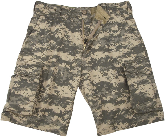 ACU Digital Camouflage Vintage Military Paratrooper Cargo Shorts 2cce0c02618