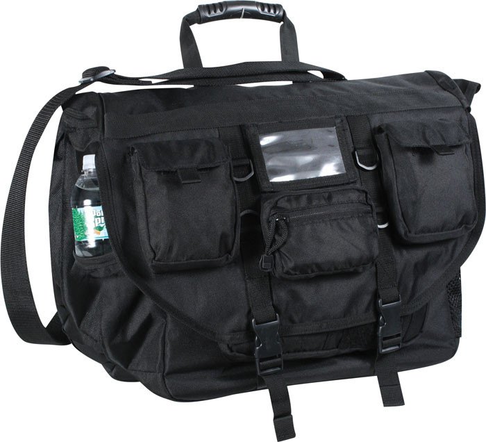Black Special Operations Tactical Laptop Bag dfc5b20b391