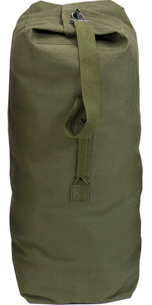 Olive Drab Extra Large Top Load Heavyweight Canvas Duffle Bag 25 ... 069f904d436