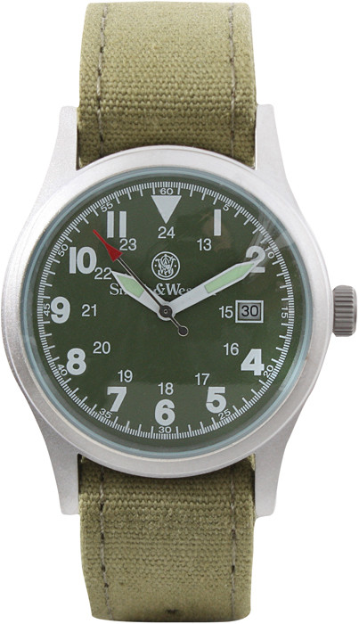 Olive Drab Smith   Wesson Military Watch Set 25444951792