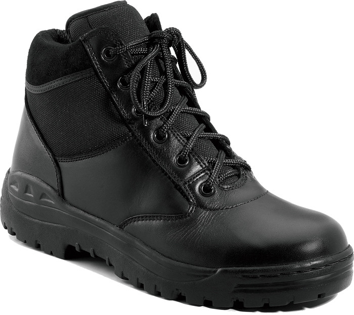Black Forced Entry Leather Tactical Boots 1863fe255d4