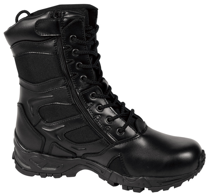 Black Forced Entry Deployment Tactical Combat Boots 931043b3d88