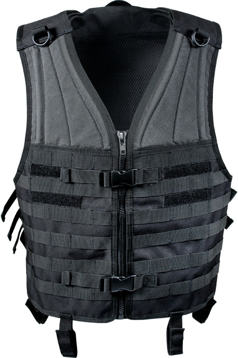More Views. Black MOLLE Modular Military Tactical Assault Vest 5f9f5097419