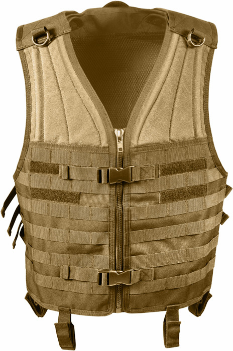 Coyote Brown MOLLE Modular Military Tactical Assault Vest 66f619a306c