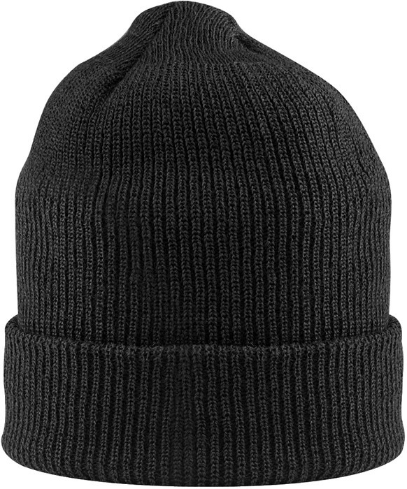 Black Military Winter Beanie Hat Acrylic Watch Cap USA Made eed8f3265f8