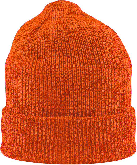 4a120249e9c Blaze Orange Military Winter Beanie Hat Acrylic Watch Cap USA Made