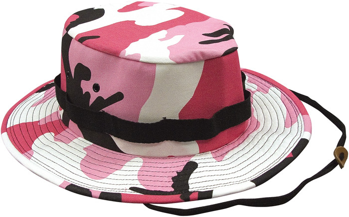 More Views. Pink Camouflage Military Wide Brim Jungle Hat 648ae6f023a