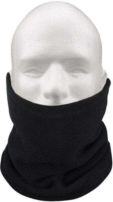 Black Military Cold Weather Polar Fleece Neck Gaiter Neck Warmer c4fc0d89840