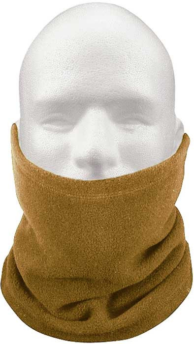 Coyote Brown Military Cold Weather Polar Fleece Neck Gaiter Neck