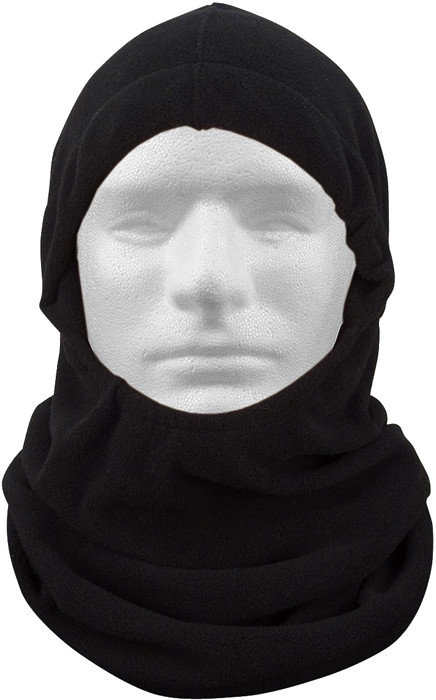 More Views. Black Polar Fleece Adjustable Winter Balaclava Mask 3f1bca32a06