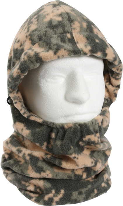 More Views. ACU Digital Camouflage Polar Fleece Adjustable Winter Balaclava  Mask ac3518bf842