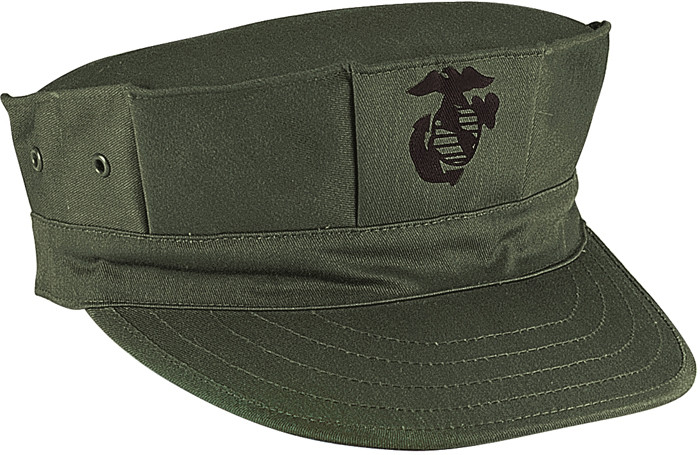 More Views. Olive Drab Military Marine Corps 8 Point Utility Cap ... 2d175d9cd24e