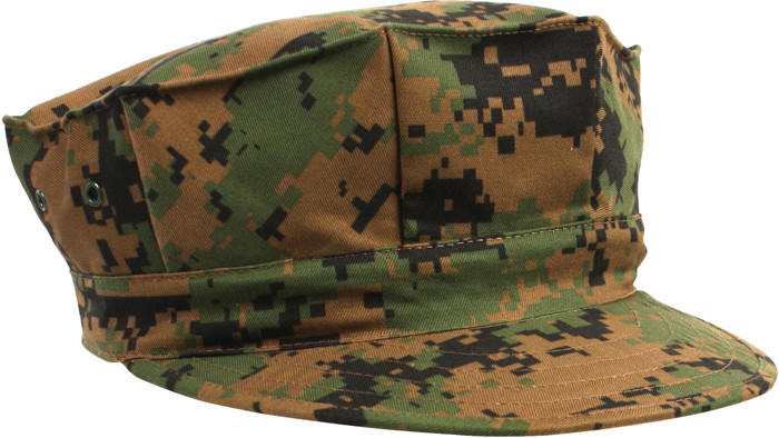 f7a614ab625 Woodland Digital Camouflage Military Marine Corps 8 Point Utility Cap