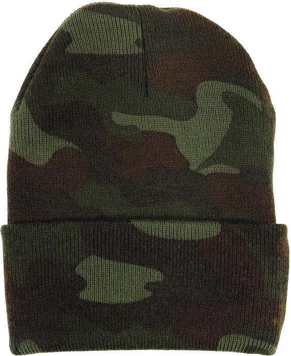 Woodland Camouflage Deluxe Knitted Winter Hat Acrylic Watch Cap 39831b375dc
