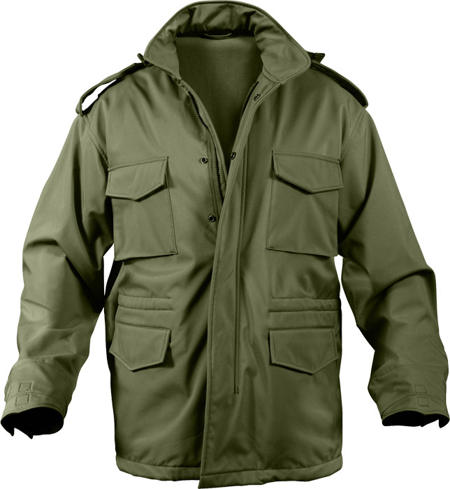 More Views. Olive Drab Military Soft Shell Tactical M-65 Field Jacket 66cf3489d35