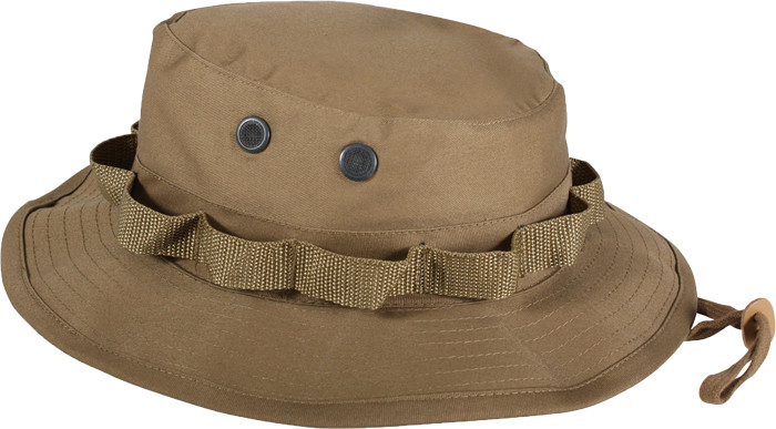 e5b8be8194b More Views. Coyote Brown Military Wide Brim Boonie Hat