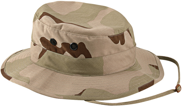 50b6438cd43 More Views. Tri-Color Desert Camouflage Military Wide Brim Boonie Hat