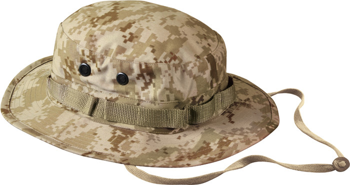 More Views. Desert Digital Camouflage Military Wide Brim Boonie Hat 5f74c8884