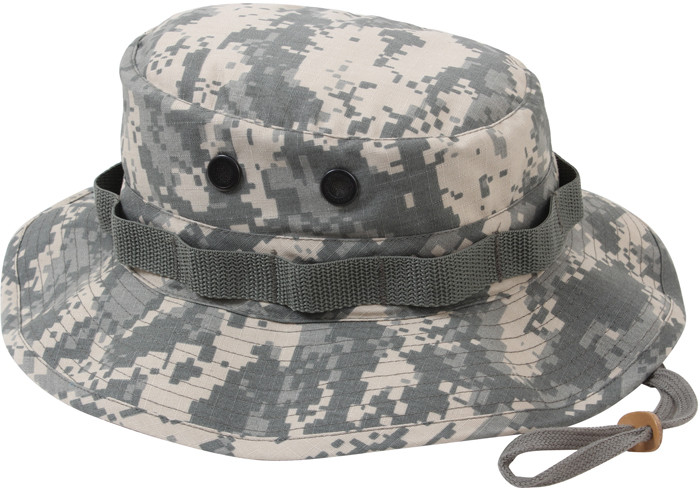 679a7995b0b63 More Views. ACU Digital Camouflage Military Rip-Stop Wide Brim Boonie Hat
