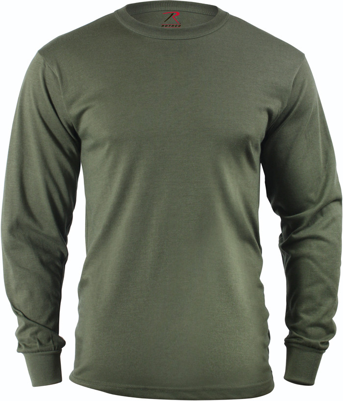 Olive Drab Tactical Long Sleeve Military T-Shirt 962f62626e