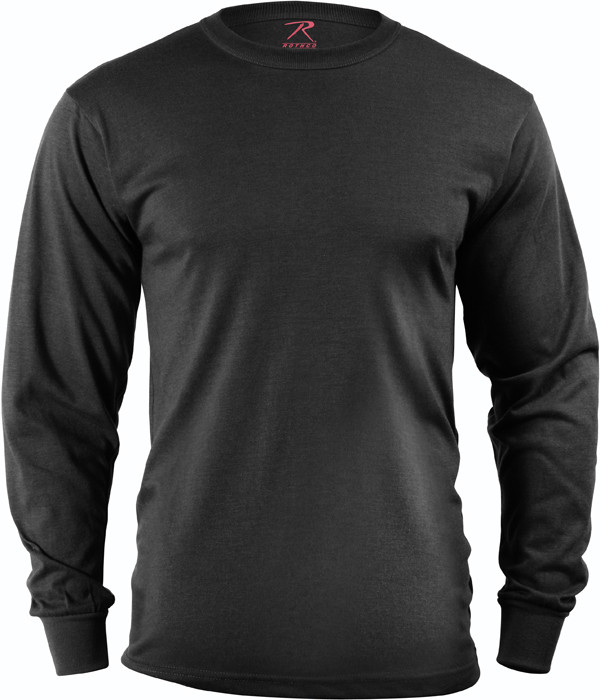Black Tactical Long Sleeve Military T-Shirt df5092d86e4