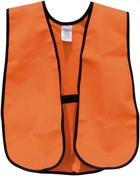 Blaze Orange Super Quiet Deluxe Tactical Safety Vest 3ff7cb16d58