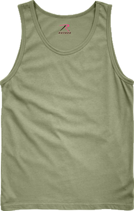 acf10dd9f2426 Olive Drab Military Physical Training Tank Top