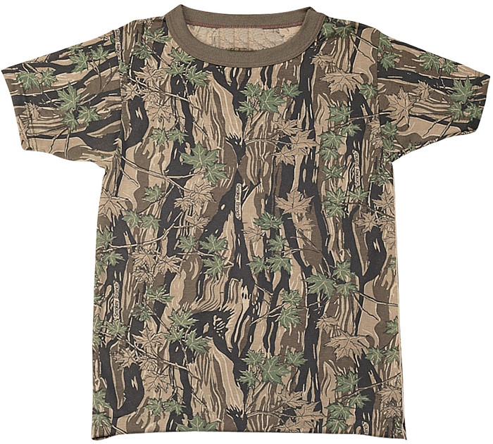 Smokey Branch Camouflage Kids Military Tactical T-Shirt 267ead09584
