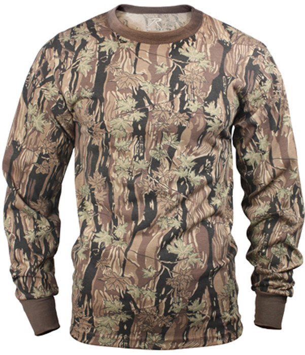 Smokey Branch Camouflage Tactical Long Sleeve Military T-Shirt f90788c4a65
