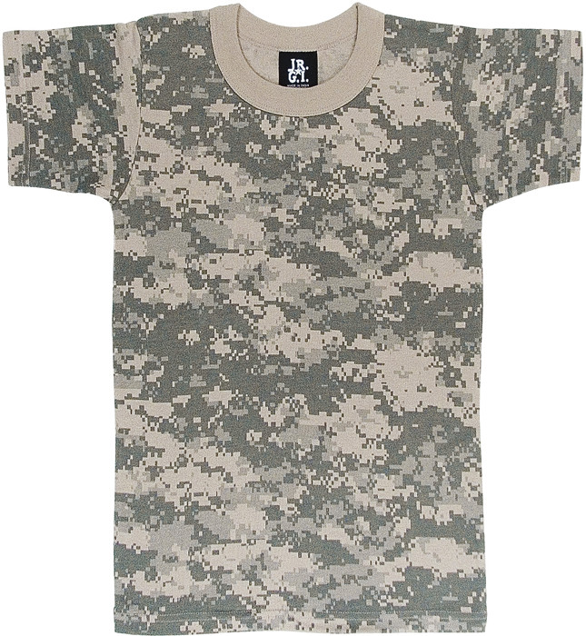 ACU Digital Camouflage Kids Military Tactical T-Shirt 7f25f88f308