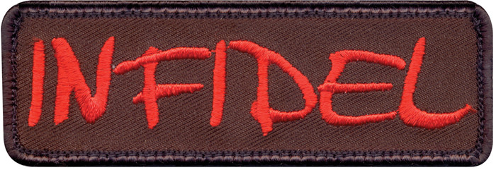 Brown Infidel Patch With Hook Back 945e307df95