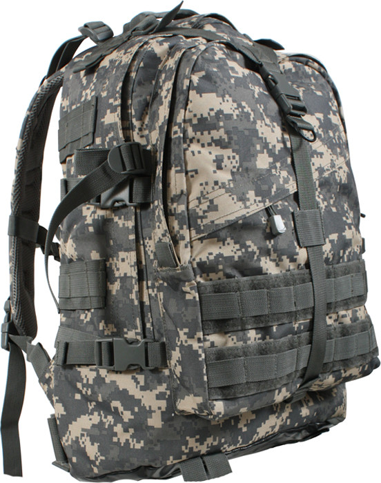 ACU Digital Camouflage Military MOLLE Large Transport Assault ... 4b9105e1be9