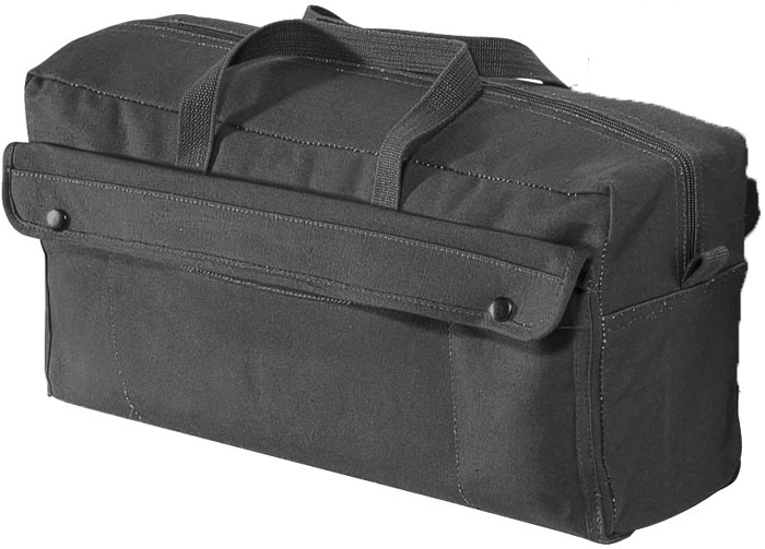 Black Military Jumbo Mechanics Tool Bag 29e63ec46ab