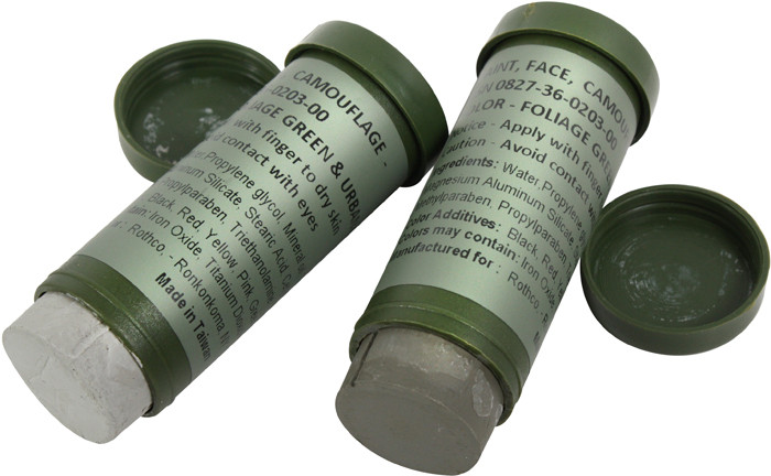 More Views Foliage Green Urban Grey Nato Camouflage Paint Stick