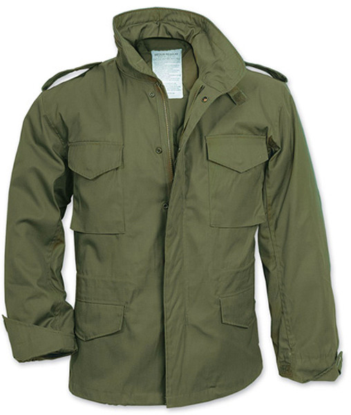 Olive Drab Military M-65 Field Jacket f1505a517fc