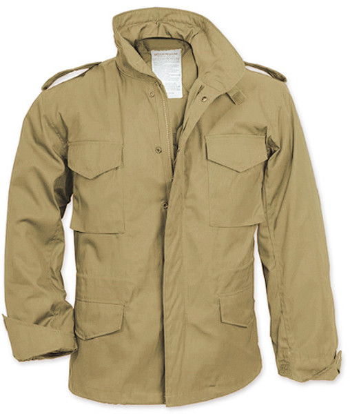 Khaki Military M-65 Field Jacket 36bf2b8d612