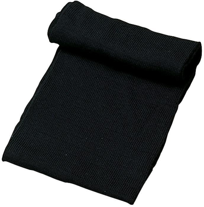 Black Military Winter Wool Neck Warmer Scarf 9df7303a977
