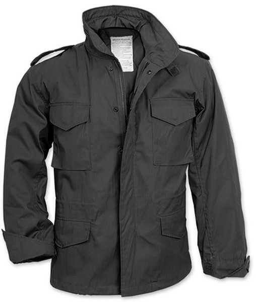 More Views. Black Military M-65 Field Jacket 8b0025f93e9
