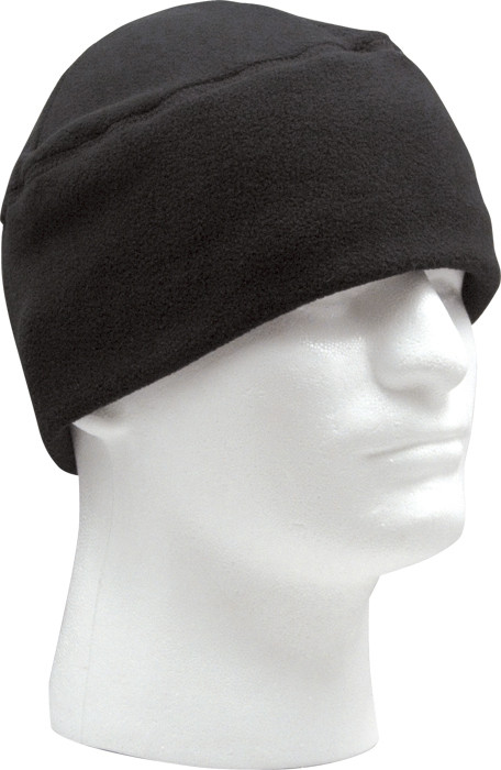 64ea704cbfe24 Black Army Polar Fleece Beanie Watch Cap