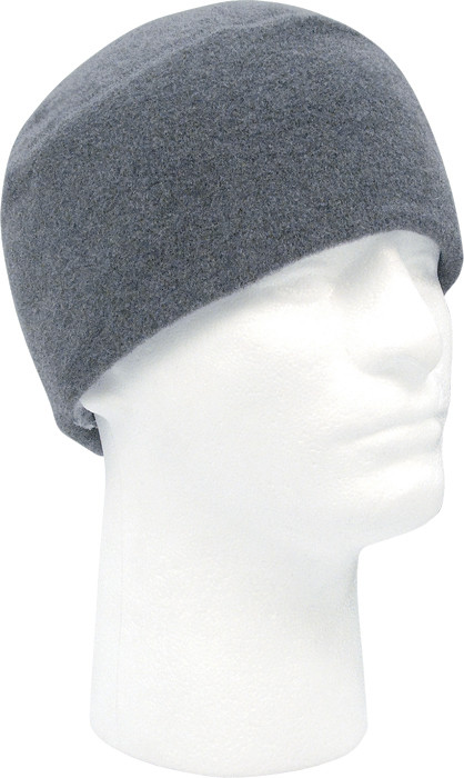 Charcoal Grey Army Polar Fleece Beanie Watch Cap cba22704028