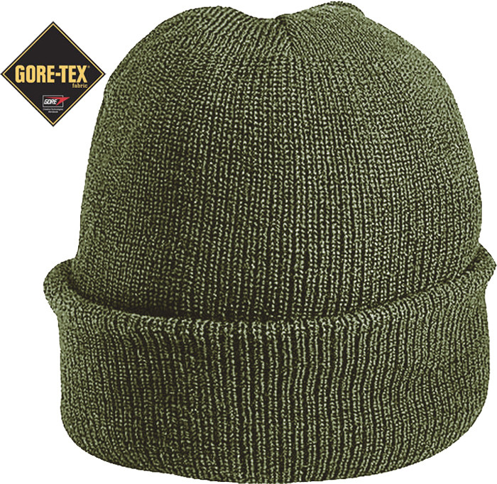 Olive Drab Military Wool GORE-TEX Knitted Winter Hat Watch Cap 2dede10fe5d
