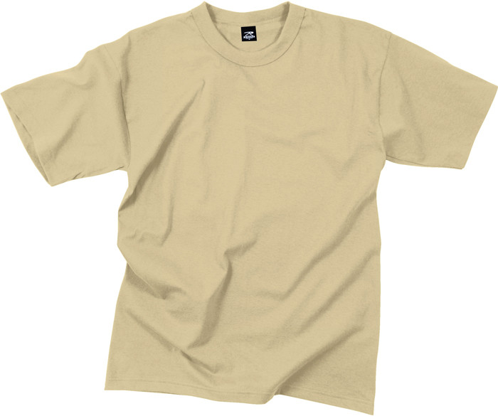 More Views. Desert Sand Moisture Wicking Genuine GI Solid Military T-Shirt 0828b282960