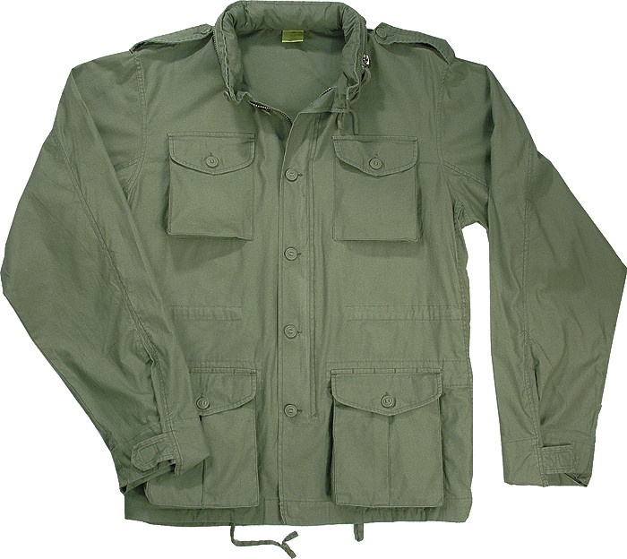 Sage Green Vintage Military Tactical Lightweight M-65 Field Jacket 94e101a8813