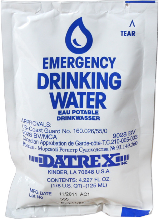 Military Emergency Water Case Tactical Purified Sachets 3b4dd749a