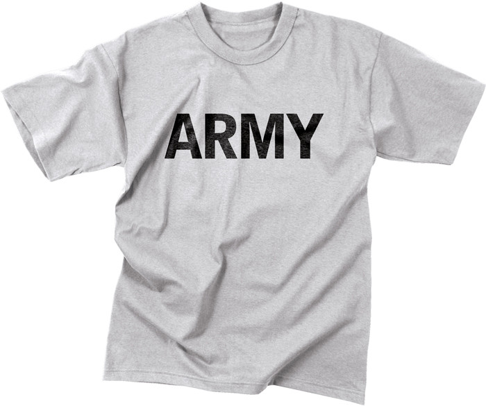 Grey Military Army Moisture Wicking Short Sleeve T-Shirt 91f2aedd791