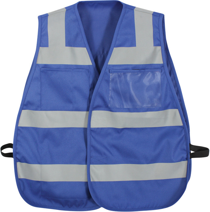 859aeac023d21 Blue Hi-Visibility Tactical Protective Safety Vests